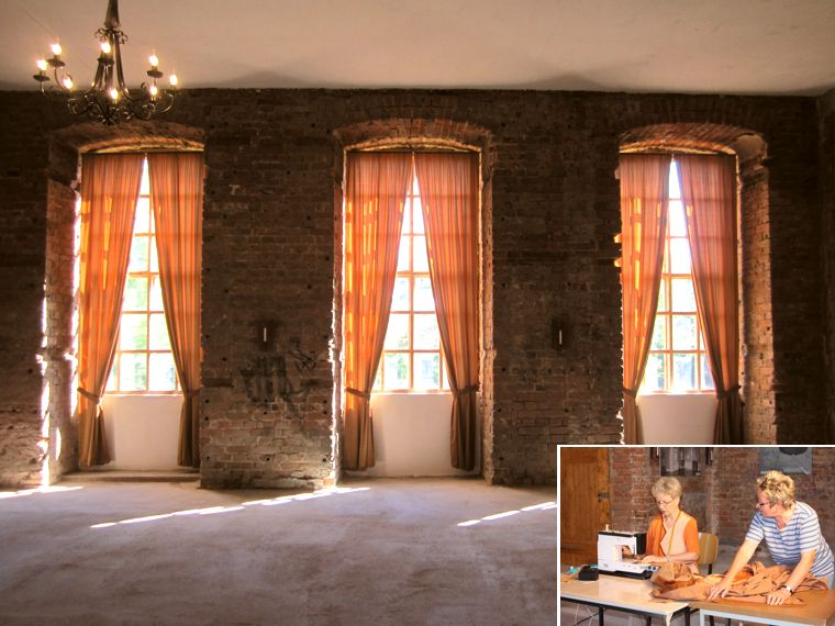gardinen schlafzimmer bilder inspiration design familie. Black Bedroom Furniture Sets. Home Design Ideas